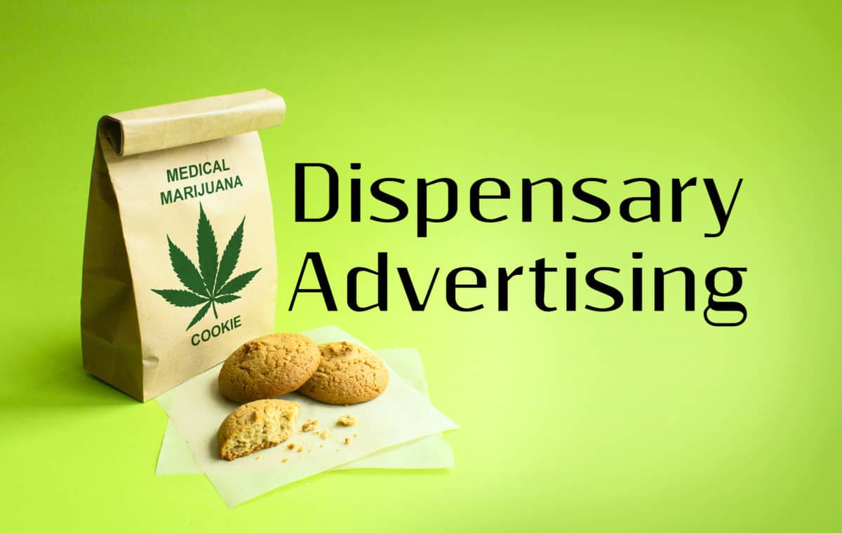 dispensary advertising