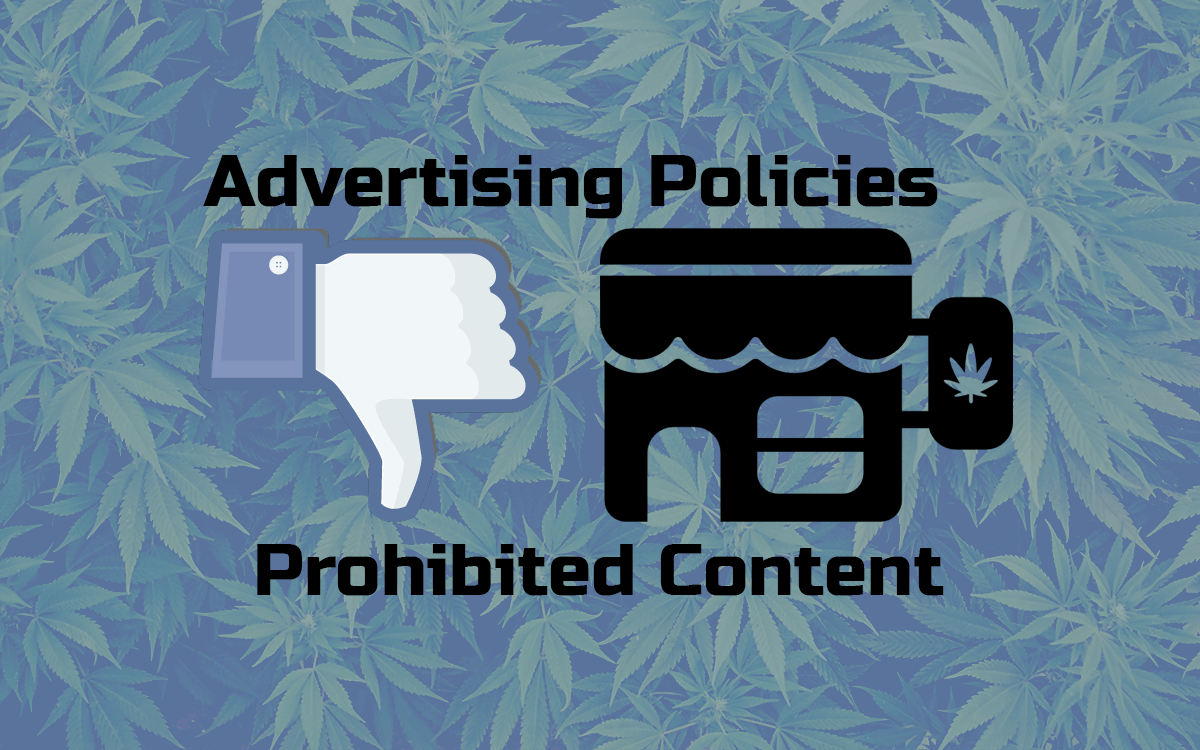 can you advertise weed on facebook